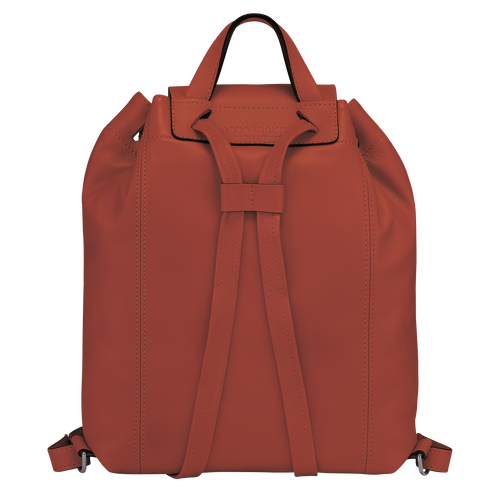 Le Pliage Cuir Backpack, Sienna