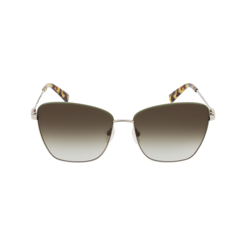Spring-Summer 2021 Collection Sunglasses, Gold Khaki