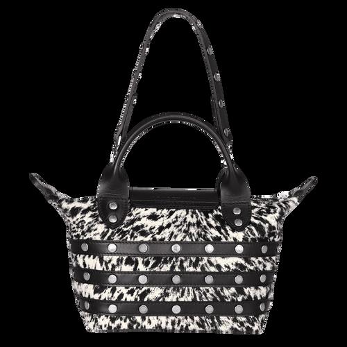 View 3 of Mini-Handbag, Black/White, hi-res