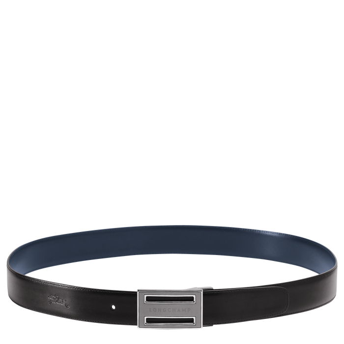 Men's belt, Black/Navy, hi-res - View 1 of 1