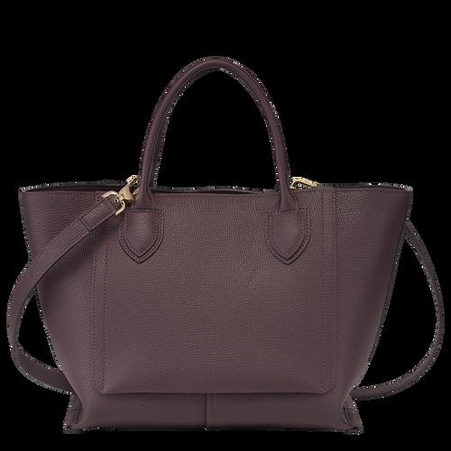 Top handle bag M, Aubergine - View 3 of  4 -