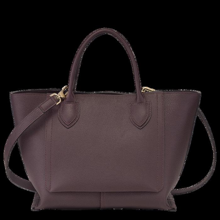 Top handle bag M, Aubergine - View 3 of  4 - zoom in
