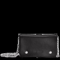 Geldbörse mit Kette, 047 Schwarz, hi-res