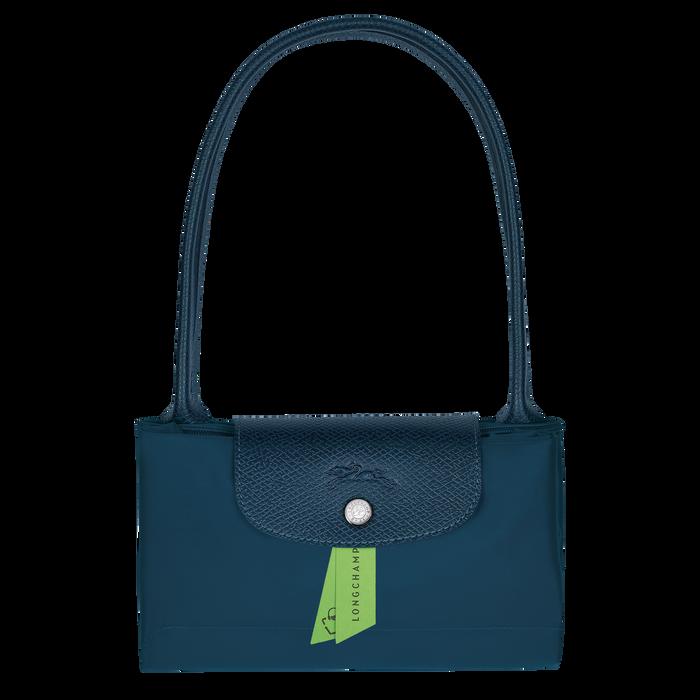 Le Pliage Green Schoudertas S, Oceaanblauw