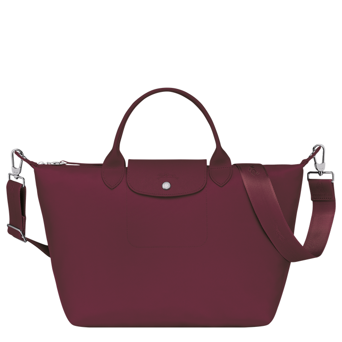 Le Pliage Néo Top handle bag M, Grape