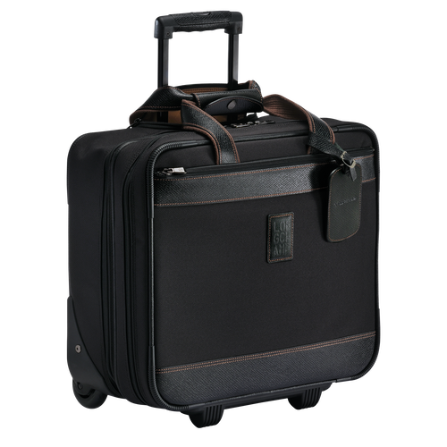 View 2 of Wheeled suitcase, Black, hi-res