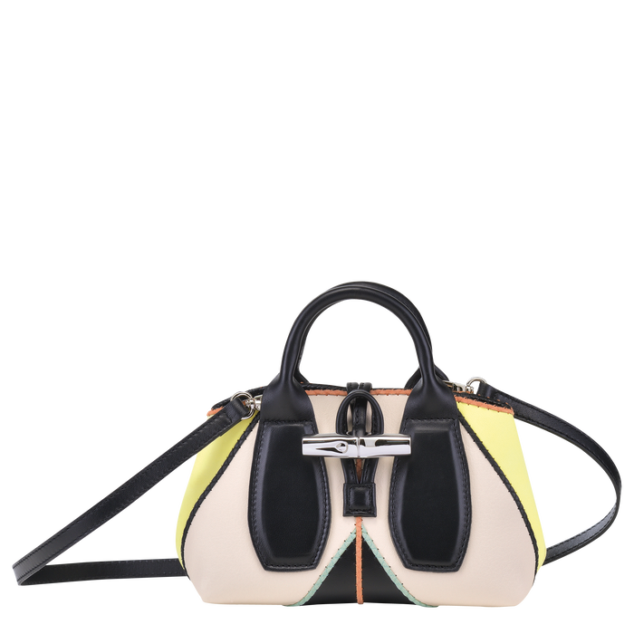 Top handle bag S, Yellow, hi-res - View 4 of 4
