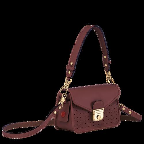 Sac porté travers XS Mademoiselle Longchamp Bordeaux (L2038883009) |  Longchamp FR