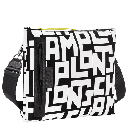 Multi-style pouch, Black/White, hi-res - View 2 of 3