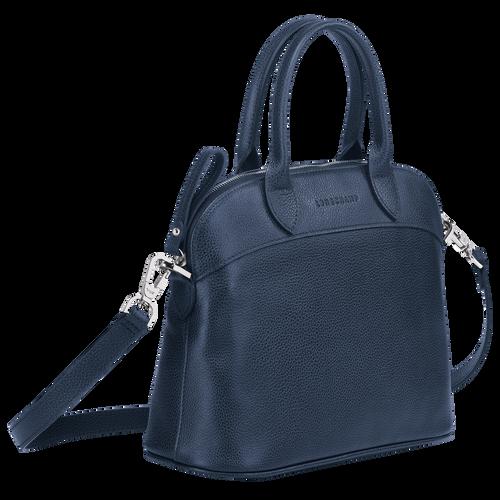 Top handle bag S, Navy - View 2 of  3 -