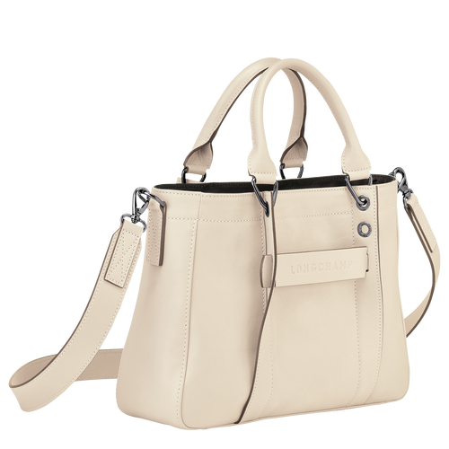 Top handle bag S, Ivory - View 2 of 3 -