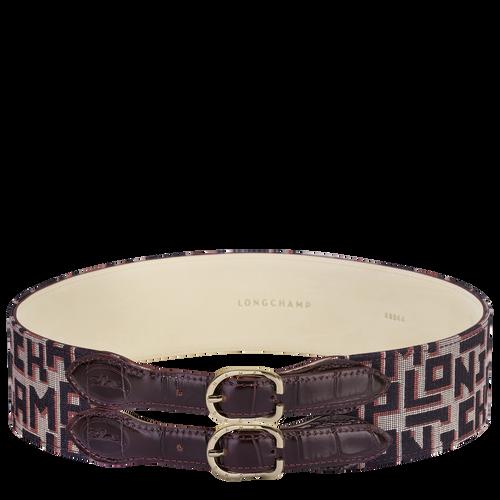 Ladies' belt, Mahogany - View 1 of  1 -