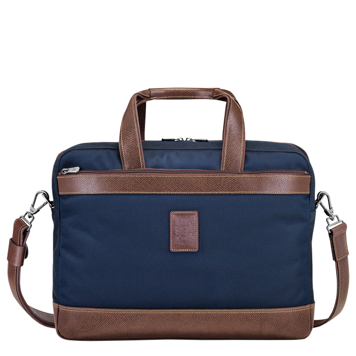 Briefcase L, Blue, hi-res - View 1 of 3