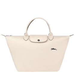 Top handle bag M, Chalk