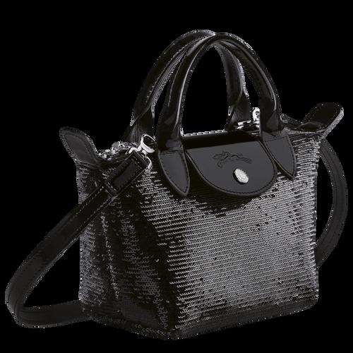 Tas met handgreep aan de bovenkant XS, Zwart/Ebbenhout - Weergave 2 van  3 -