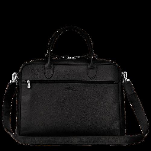 Briefcase M, Black - View 3 of 3 -