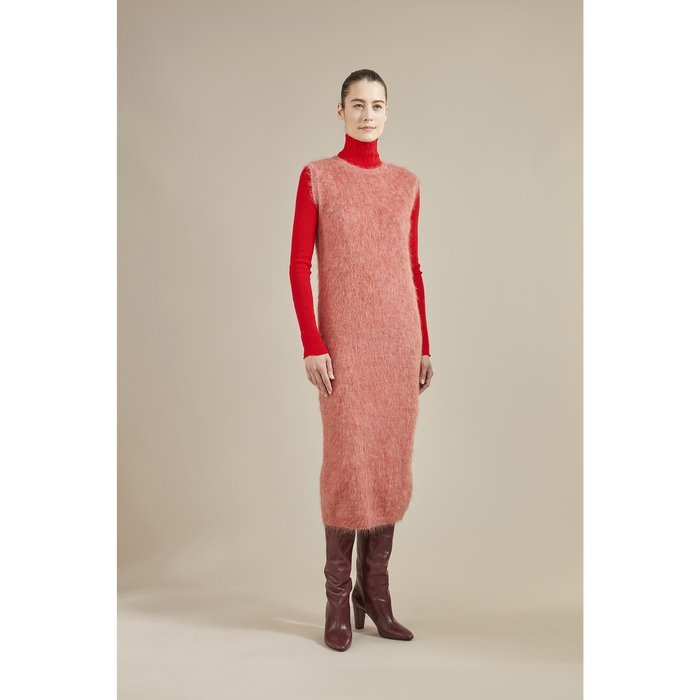 Fall-Winter 2021 Collection Long dress, Blush
