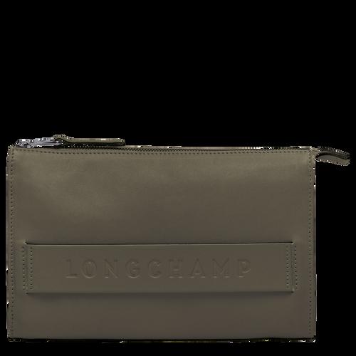 Longchamp 3D Custodia high-tech, Kaki