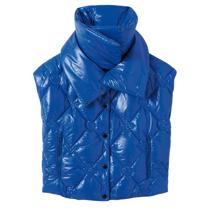 Spring-Summer 2021 Collection Puffer jacket, Blue