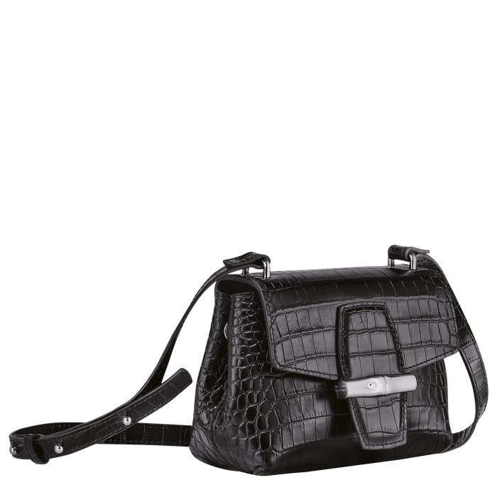 Crossbody bag S, Black/Ebony - View 3 of 4 - zoom in
