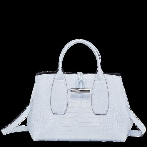Top handle bag M Roseau Sky Blue (10058HTS028) | Longchamp US
