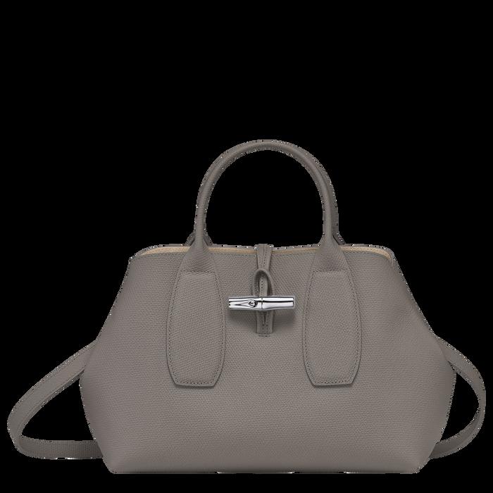Roseau Top handle bag M, Turtledove