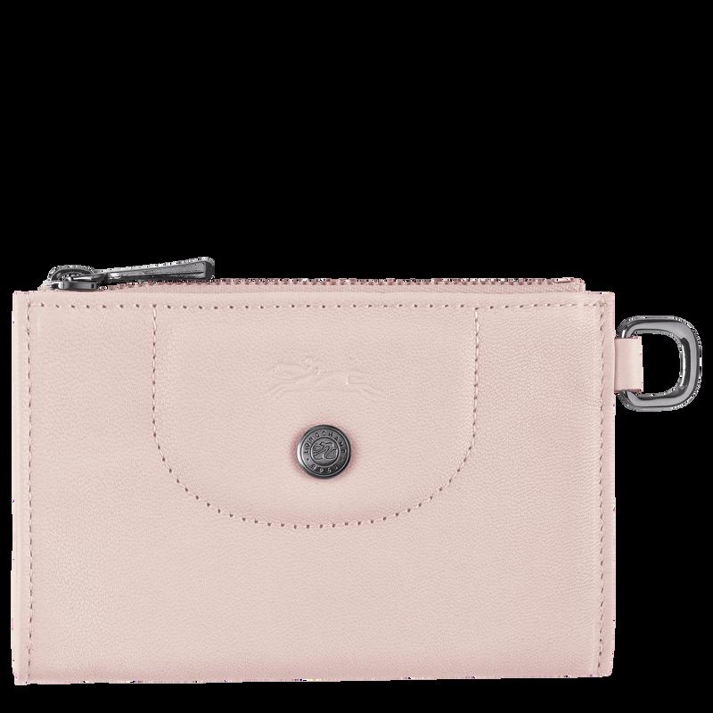 Le Pliage Cuir Key case, Pale pink