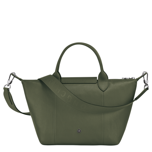 Top handle bag, Dark Green, hi-res - View 3 of 3