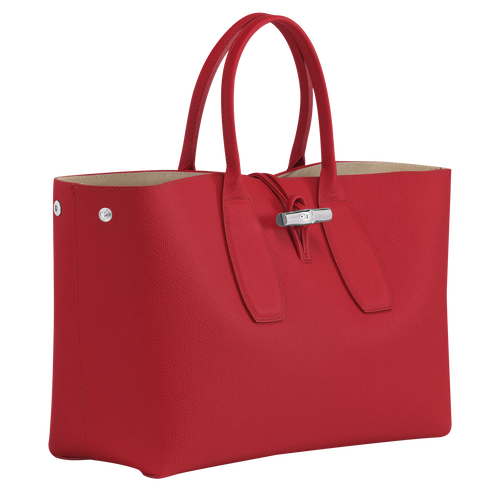Roseau Top handle bag L, Red
