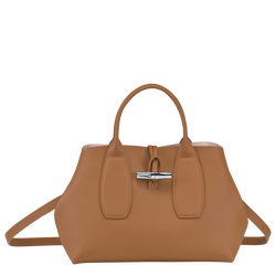 Top handle bag M, Natural, hi-res
