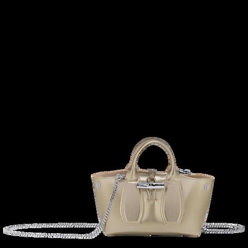 View 1 of Top handle bag S, Platinum, hi-res