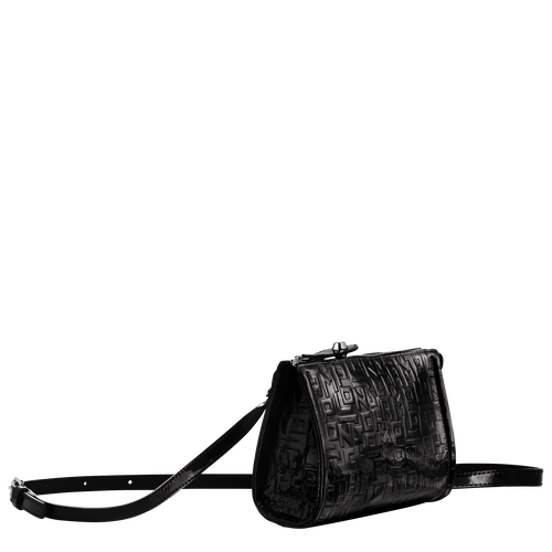 View 2 of Crossbody bag, Black, hi-res