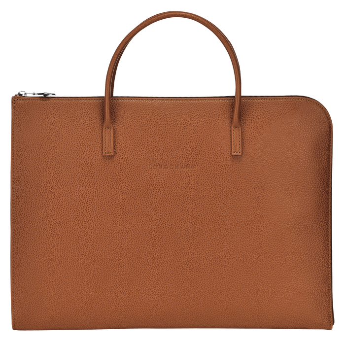 Briefcase S, Caramel - View 1 of 3 - zoom in