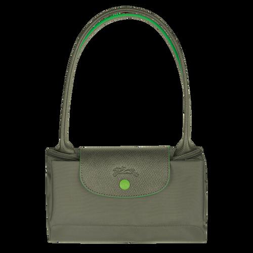 Le Pliage Club Bolso de hombro S, Verde Longchamp