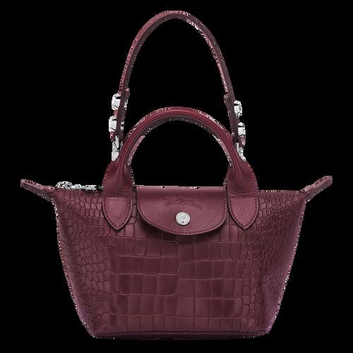 Mini top-handle bag, Brandy, hi-res - View 1 of 3