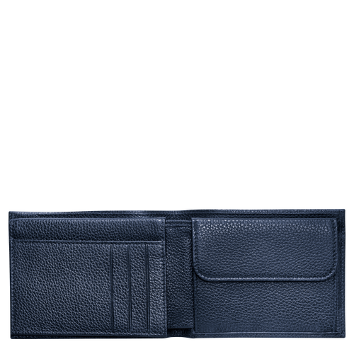 View 2 of Small wallet, Navy, hi-res