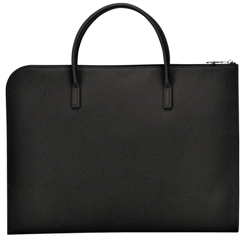 Briefcase S, Black, hi-res - View 3 of 3