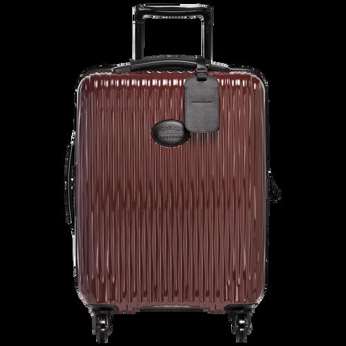 Kleine Koffer mit Rollen, Schwarz/ Lackrot, hi-res - View 1 of 3