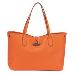 Essential Tote bag M, 017 Orange, hi-res