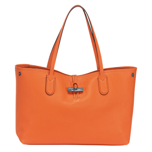 Essential Tote bag M, 017 Orange, hi-res