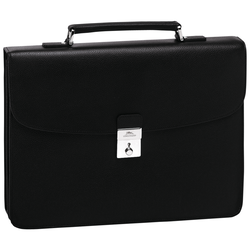 Briefcase M, 047 Black, hi-res