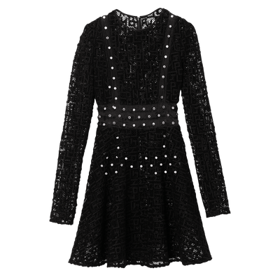 Dress, 001 Black, hi-res