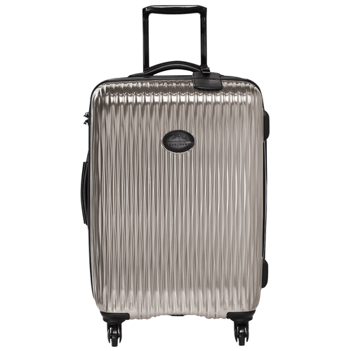 Wheeled suitcase, Grey, hi-res - View 1 of 3