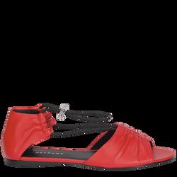 Platte sandalen