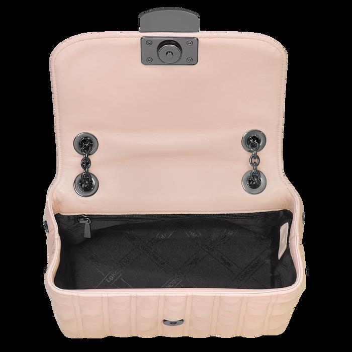 Brioche Crossbody bag S, Powder