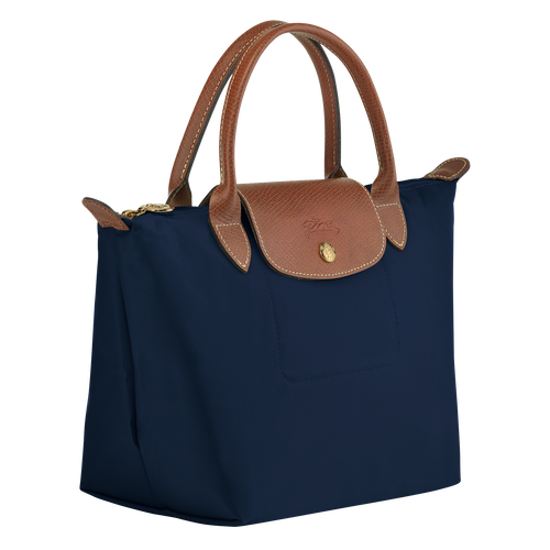 Top handle bag S, Navy - View 2 of  4 -