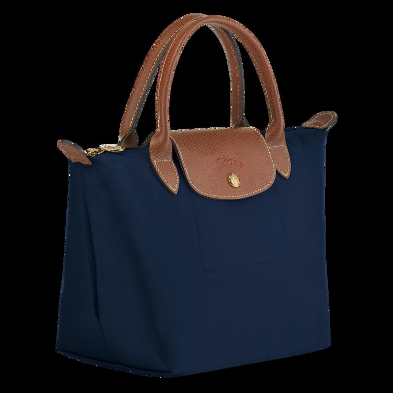 Top handle bag S, Navy - View 2 of  4 - zoom in