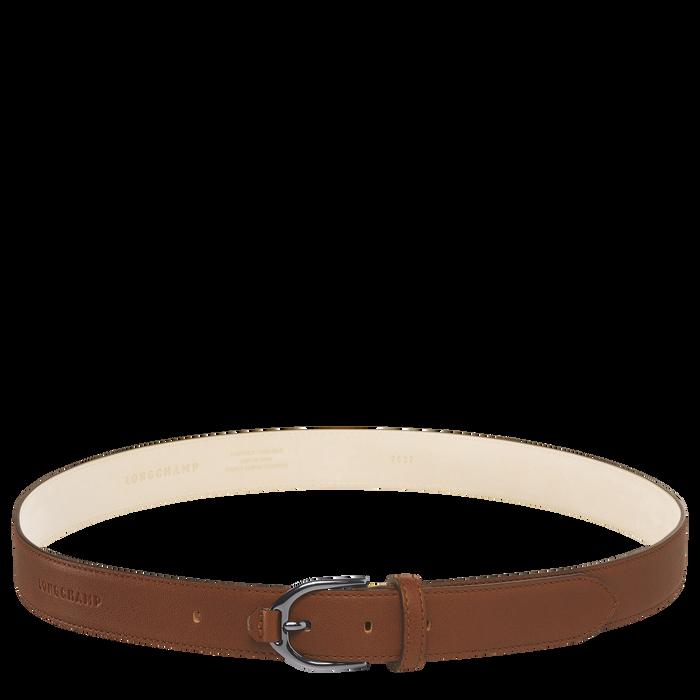 Longchamp 3D Damengürtel, Cognac