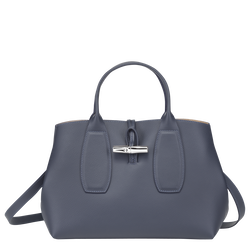 Top handle bag M, Pilot blue, hi-res