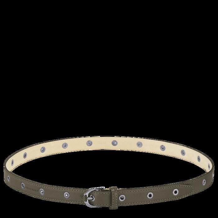 Longchamp 3D Damengürtel, Khaki